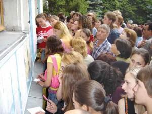 Studenții basarabeni admiși la studii în România 2011