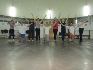 Tinerii basarabeni au adus dansul popular moldovenesc în Banat