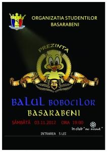 BALUL BOBOCILOR BASARABENI !!!