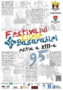 """Festivalul Cultural """"Zilele Basarabiei"""", ediția a XIII-a."""