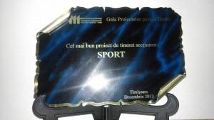 OSB Timișoara are CEL MAI BUN PROIECT DE TINERET pe categoria Sport!