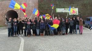 Basarabenii din Timișoara au sărbătorit 1 decembrie la Alba Iulia.