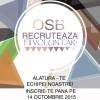OSB recrutează!