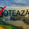 În 30 octombrie nu se stă pe facebook, se merge la vot!!!