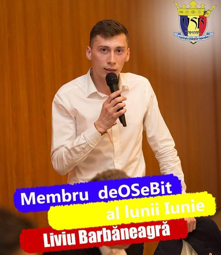 Secretar General, Liviu Barbăneagră